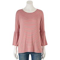 Women's LC Lauren Conrad Solid Bell Sleeve Top