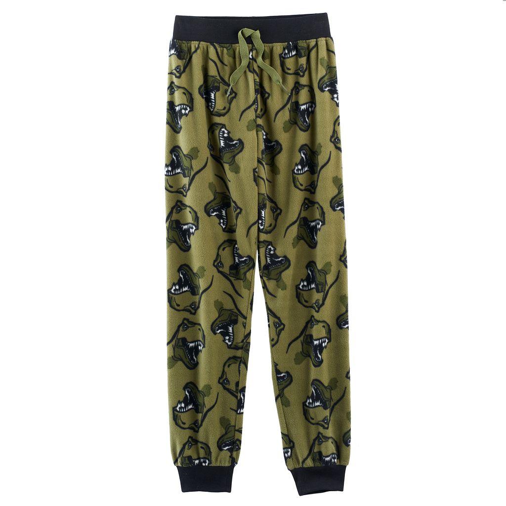 Boys 4-20 Jellifish Print Lounge Pants