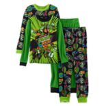 Boys 4-10 Teenage Mutant Ninja Turtles 4-Piece Pajama Set