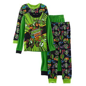 Boys 4-10 Teenage Mutant Ninja Turtles 4-Piece Pajama Set