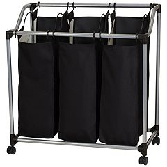 Household Essentials 3-pack Bag Laundry Sorter