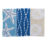 Bacova Coastal Patch Bath Rug