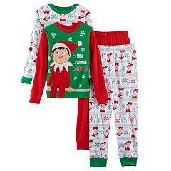 Boys 4-10 Elf on the Shelf® 4 pc Pajama Set