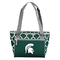 Logo Brand Michigan State Spartans 16-Can Quatrefoil Cooler Tote