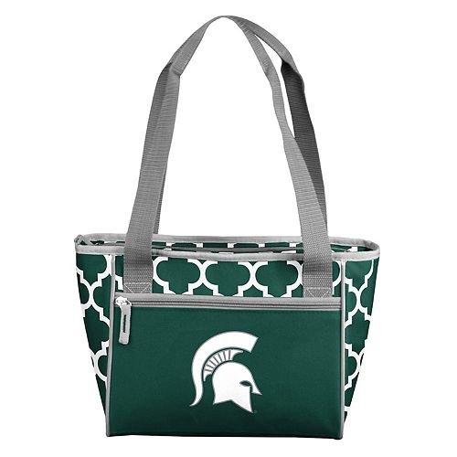 Logo Brand Michigan State Spartans 16-Can Quatrefoil Cooler Tote