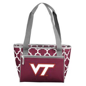 Logo Brand Virginia Tech Hokies 16-Can Quatrefoil Cooler Tote