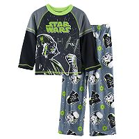 Boys 4-10 Star Wars Darth 2-Piece Vader Pajama Set