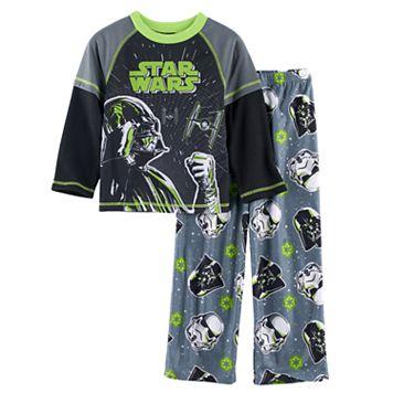Boys 4-10 Star Wars Darth 2-Piece Vader Pajama Set