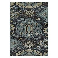 StyleHaven Logan Tribal Connections Geometric Rug