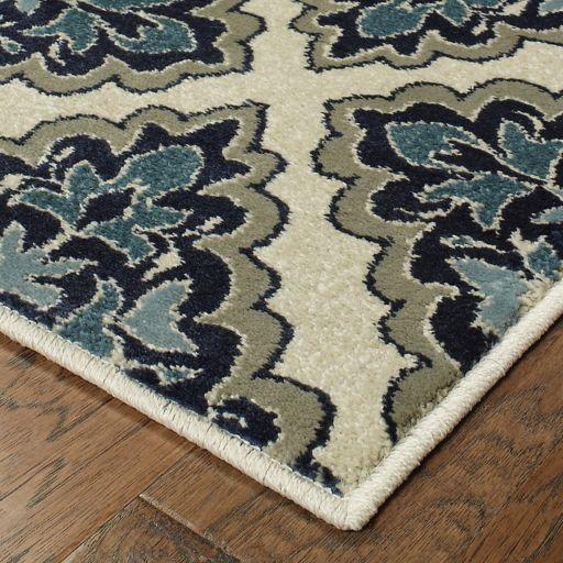 StyleHaven Logan Floral Maze Lattice Rug