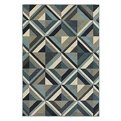 StyleHaven Logan Industrial Geometric Rug