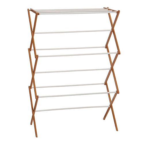 Household Essentials Indoor Outdoor Clothes Drying Rack