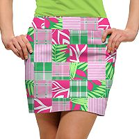 Women's Loudmouth Mint Julep Golf Skort