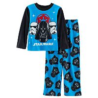Boys 4-10 Star Wars Darth Vader 2-Piece Fleece Pajamas