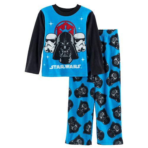 0c0737704 Boys 4-10 Star Wars Darth Vader 2-Piece Fleece Pajamas