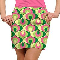 Women's Loudmouth Ribbon Print Golf Skort