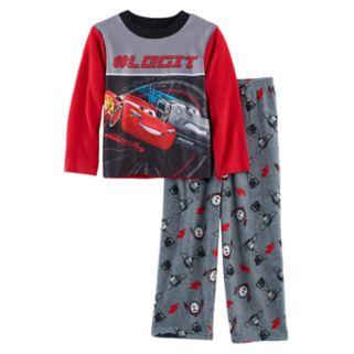 Boys 4-10 Disney/Pixar Cars Fleece 2-Piece Pajama Set