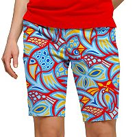 Women's Loudmouth Abstract Chicken Print Golf Skort