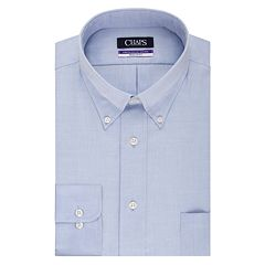 Big & Tall Chaps Regular Fit Non Iron Stretch Button-down Collar Dress Shirt