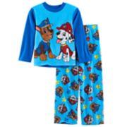 Boys 4-10 Paw Patrol 2-Piece Fleece Pajamas Set