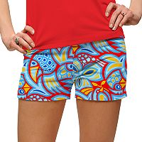 Women's Loudmouth Chicken Print Golf Short