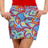 Women's Loudmouth Chicken Print Golf Skort