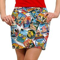 Women's Loudmouth Postcard Golf Skort