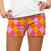 Women's Loudmouth Raspberry Golf Short