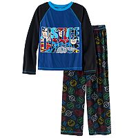 Boys 6-16 DC Comics Justice League 2-Piece Pajama Set