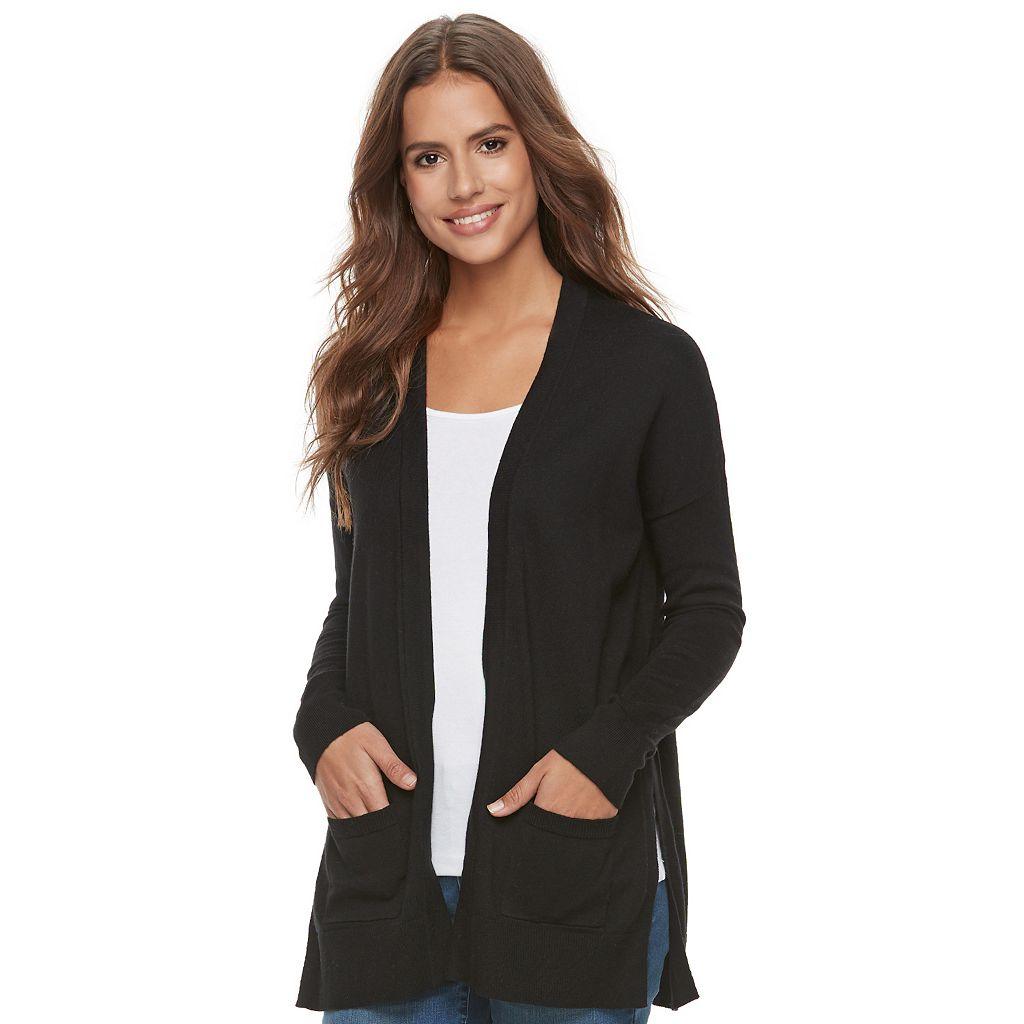 Women's SONOMA Goods for Life™ Slit Cardigan