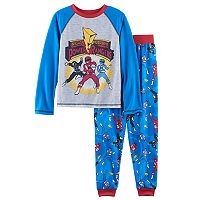 Boys 4-20 Mighty Morphin' Power Rangers 2-Piece Pajama Set