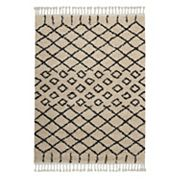 Nourison Moroccan Marrakesh Lattice I Shag Rug