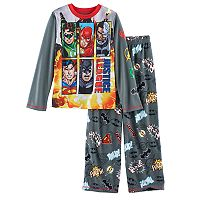 Boys 4-12 Justice League 2-Piece Pajama Set
