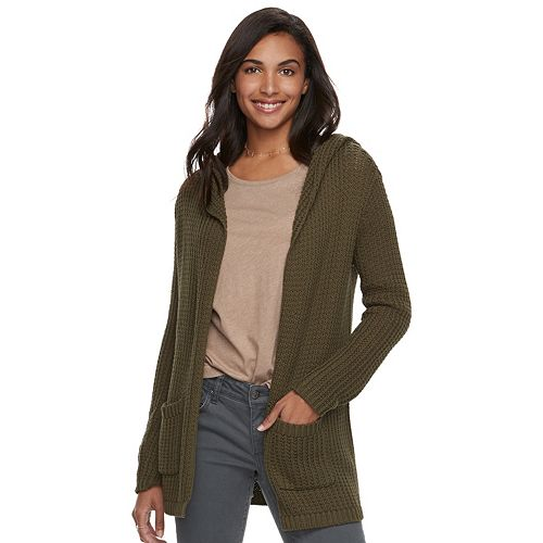 01a63aff4e Women's SONOMA Goods for Life™ Hooded Cardigan