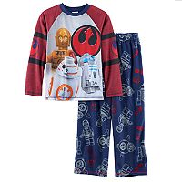 Boys 4-12 LEGO Star Wars 2-Piece Pajama Set