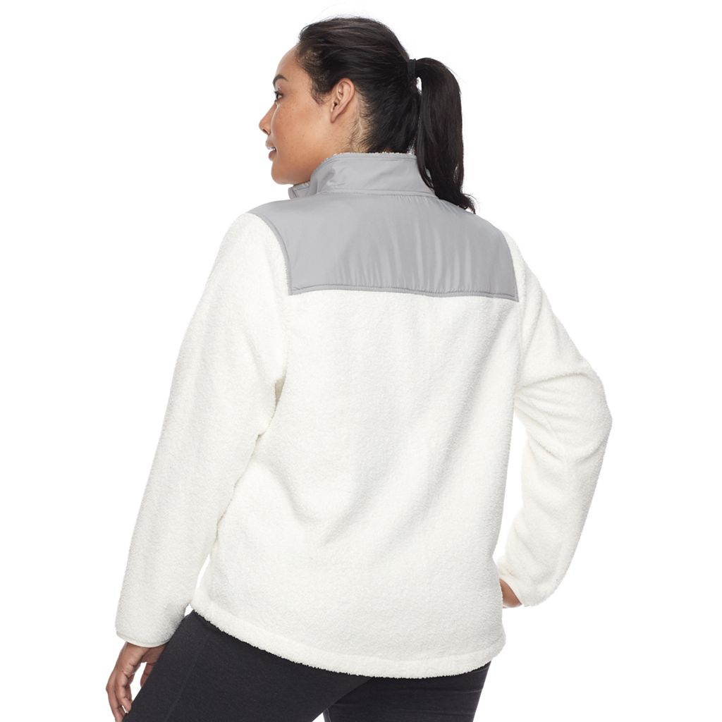 Plus Size FILA SPORT® Fleece Jacket
