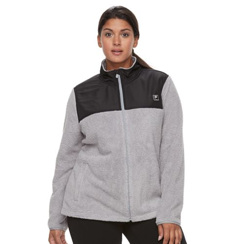 8b51808750 Plus Size FILA SPORT® Fleece Jacket