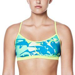 Women's Nike Crossback Graphic Sport Bikini Top