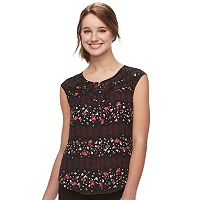 Juniors' Candie's® Floral Top