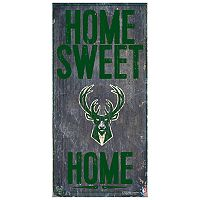 Milwaukee Bucks Home Sweet Home Wall Art