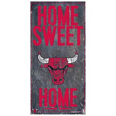 Chicago Bulls Home Sweet Home Wall Art