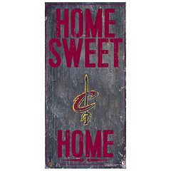 Cleveland Cavaliers Home Sweet Home Wall Art
