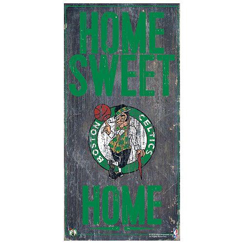 Boston Celtics Home Sweet Home Wall Art