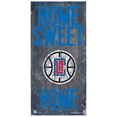 Los Angeles Clippers Home Sweet Home Wall Art
