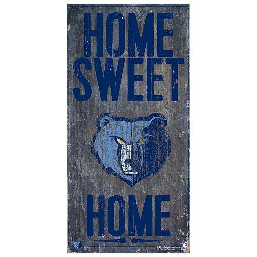 Memphis Grizzlies Home Sweet Home Wall Art