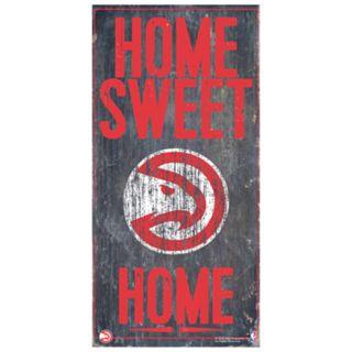 Atlanta Hawks Home Sweet Home Wall Art