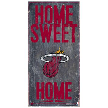 Miami Heat Home Sweet Home Wall Art