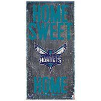 Charlotte Hornets Home Sweet Home Wall Art