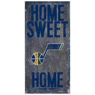 Utah Jazz Home Sweet Home Wall Art
