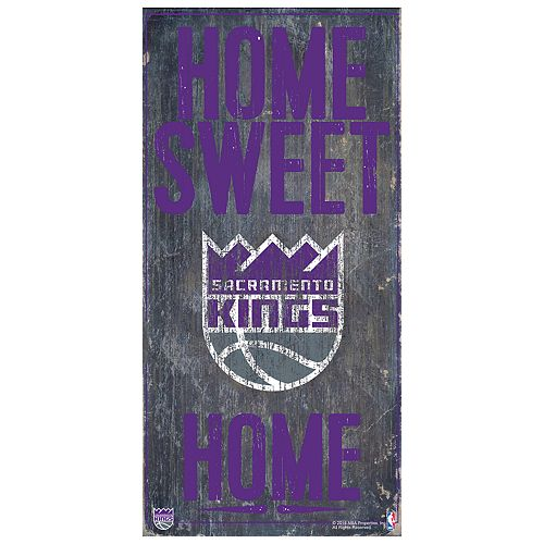 Sacramento Kings Home Sweet Home Wall Art